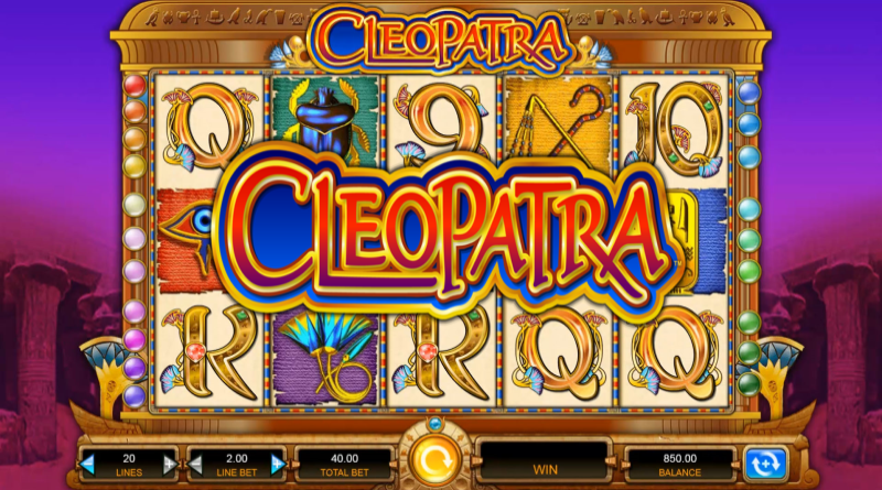 Cleopatra Online Slot- the most iconic online slot game of all time?