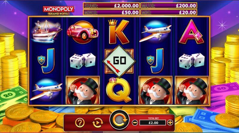 Monopoly online slot