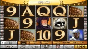 gladiator slot free spins
