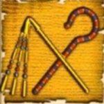 Cleopatra slot Sceptre symbol
