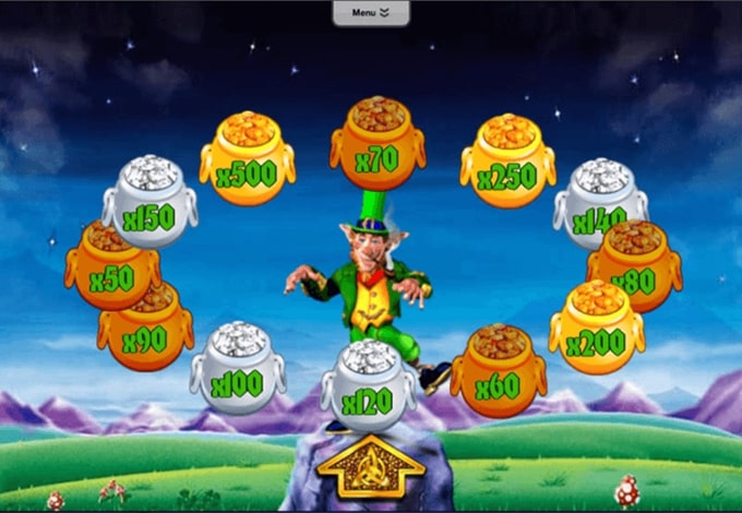 Play rainbow Riches pots O gold