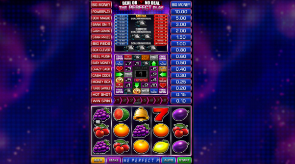 Play Deal Or No Deal The Perfect Play slot