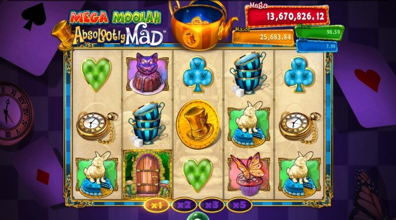 Mega Moolah Absolootly Mad online slot