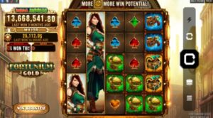 Play Mega Moolah Fortunium Gold