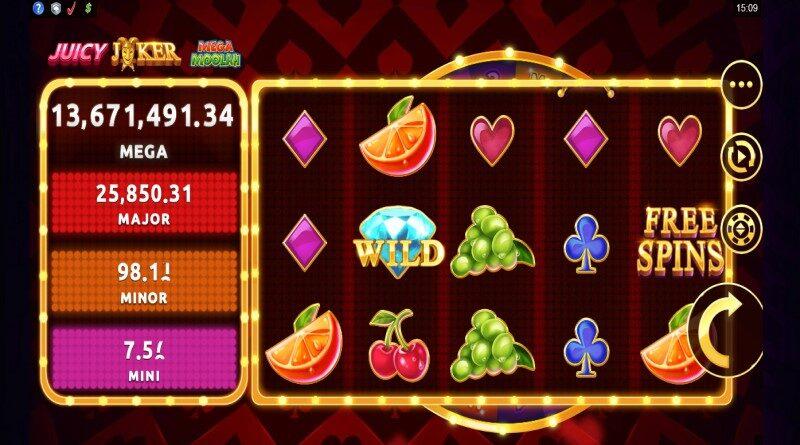 Mega Moolah Juicy Jackpot online slot