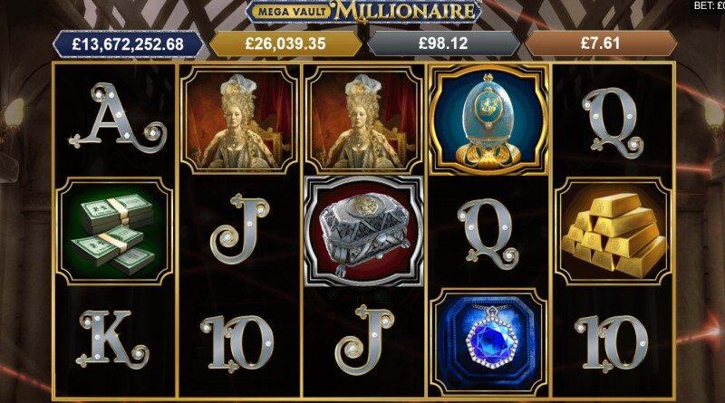 Mega Moolah Mega Vault Millionaire online slot