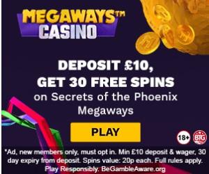 Megaways casino and slotzs.com