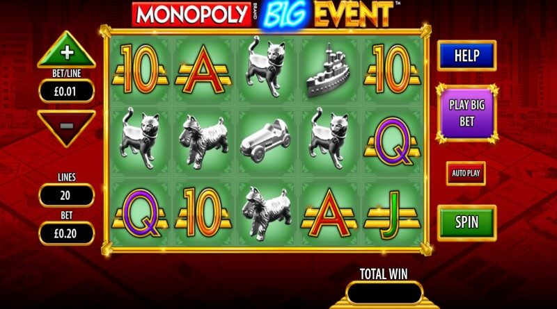 Play Monopoly Big Event slot