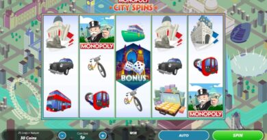 Play Monopoly City Spins slot