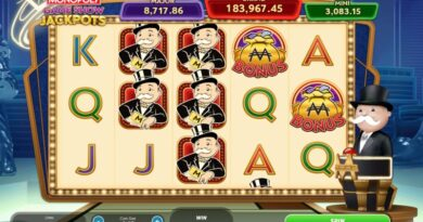 Play Monopoly Gameshow Jackpots slot