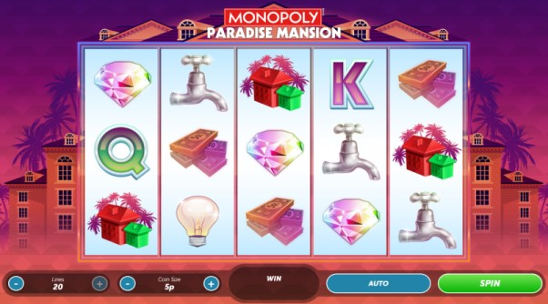 Play Monopoly Paradise Mansion