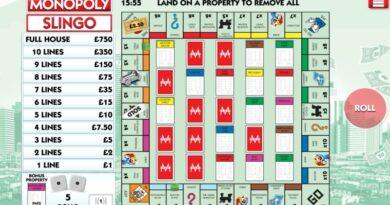 Play Monopoly Slingo