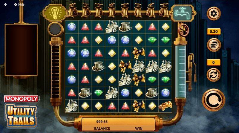 Play Monopoly Utility Trails slot