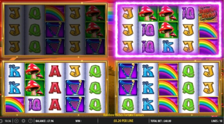 Rainbow Riches Fortune Favours review