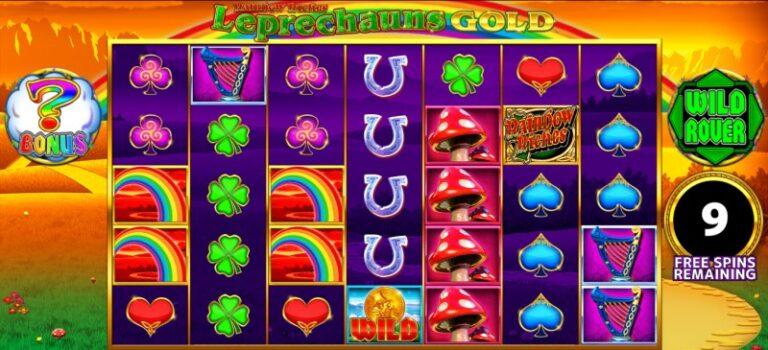 play rainbow riches leprechauns gold online