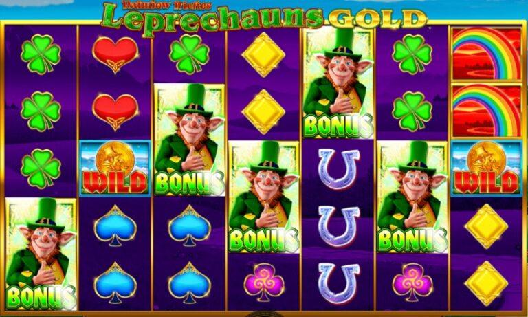 Rainbow Riches leprechauns Gold review