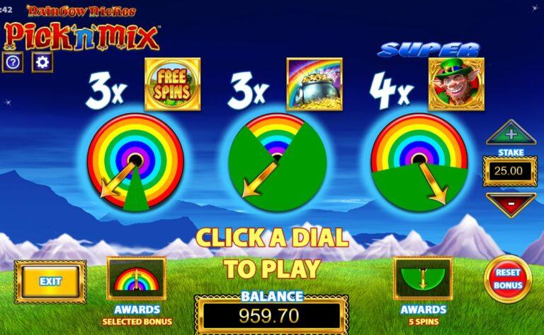 rainbow riches big bet games