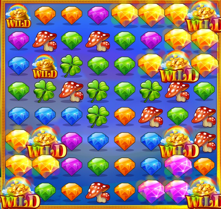 play rainbow riches cluster magic online slot