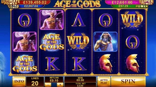 play Age Of The Gods slot