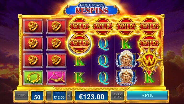 Play Apollo Power slot game