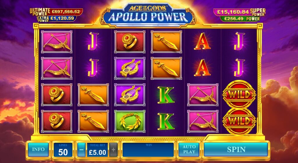 Age Of The Gods Apollo Power review