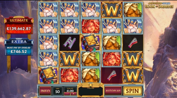 play age of the gods book of dwarves slot