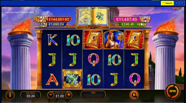 play age of the gods book of oracle
