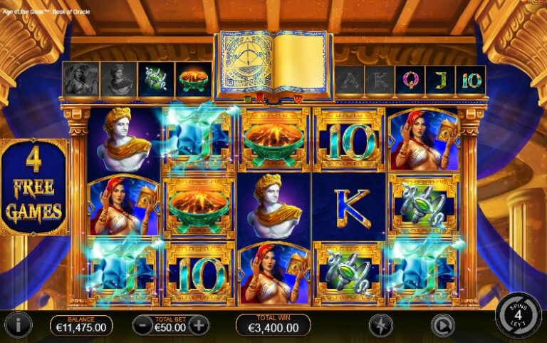 aotg book of oracle free spins