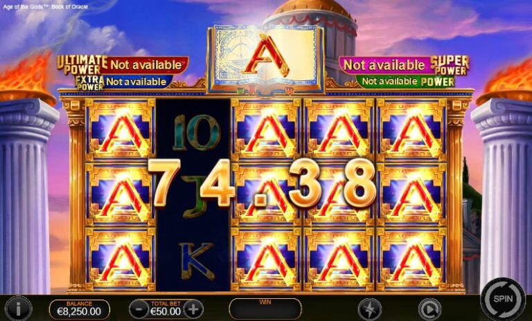 aotg book of oracle slot