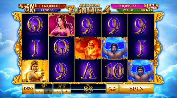 play age of the gods furious 4 slot