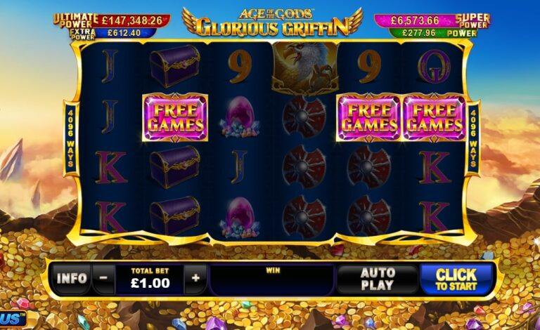 Play Glorious Griffin slot
