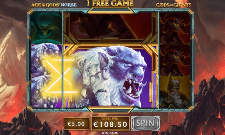 play Age Of The Gods Gods and Giants slot