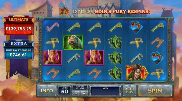 play Age of Empires King of Asgard slot