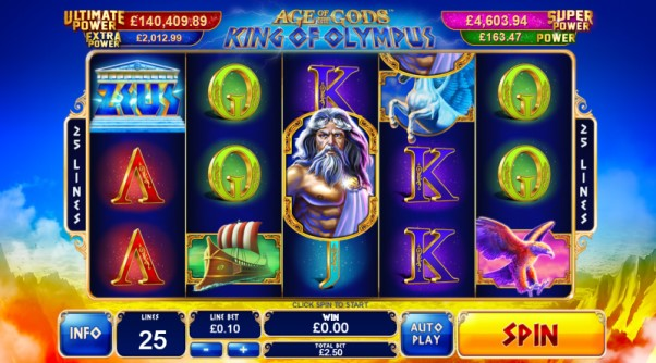 play age of the gods king of olympus of olympus