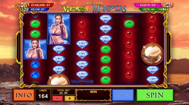 play age of the gods medusa and monsters