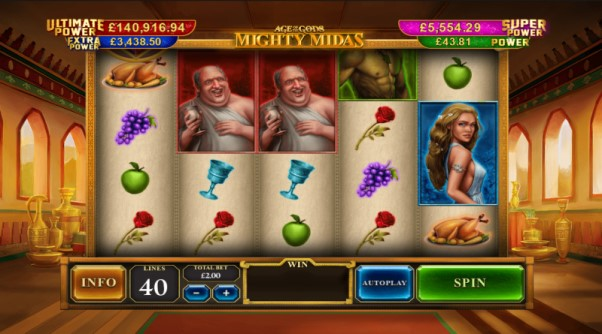 play age of the gods mighty midas