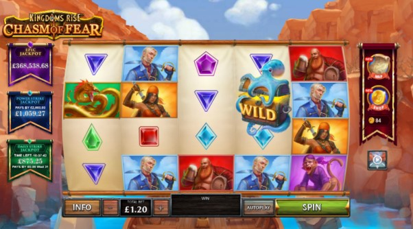 Play Kingdoms Rise Chasm Of Fear