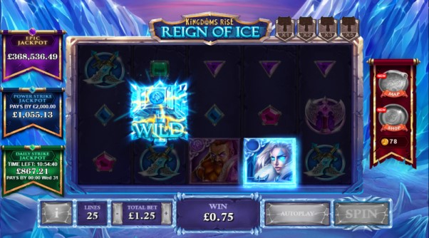 Play Kingdoms Rise Reign Of ice slot
