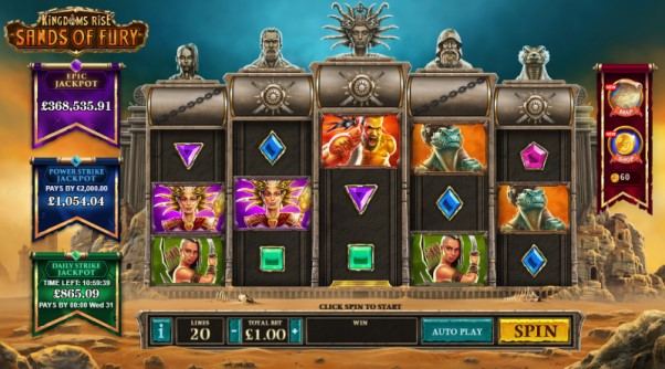 Play Kingdoms Rise Sands Of Fury