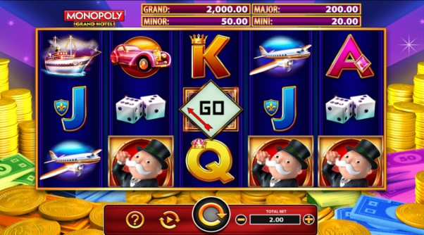 Play Monopoly Grand Hotel