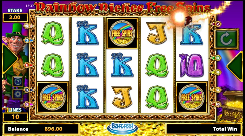 rainbow riches free spins review by www.slotzs.com
