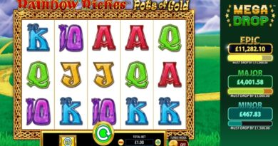 rainbow riches pots of gold slot