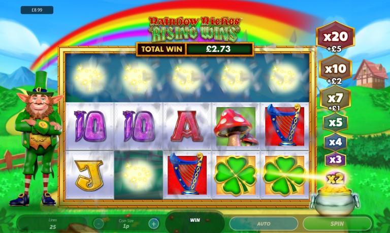 Rainbow Riches Rising Winss