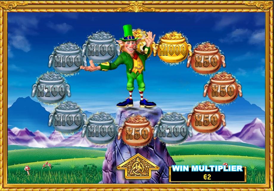 rainbow riches slingo pots of gold bonus