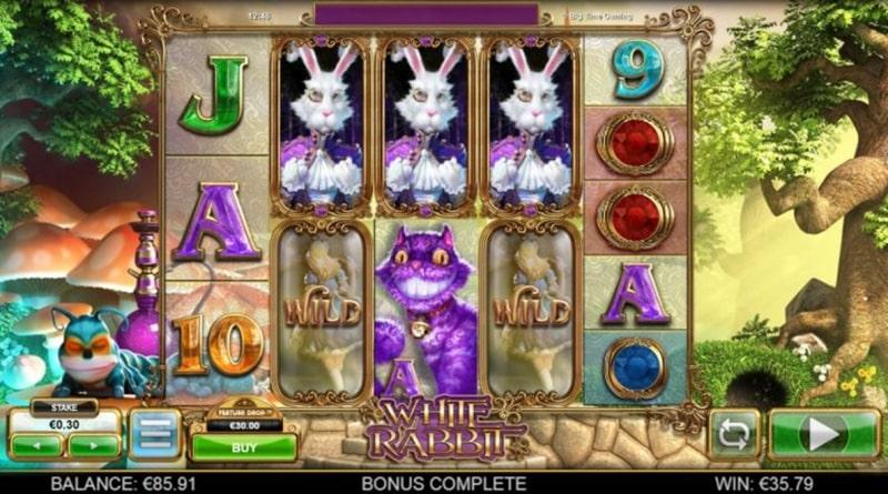 White Rabbit megaway slots