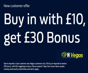 WH Vegas new player offer