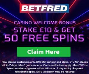 betfred casino and sotzs