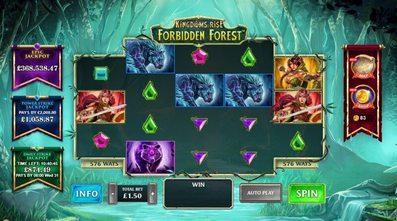 Play Kingdoms Rise Forbidden Forest